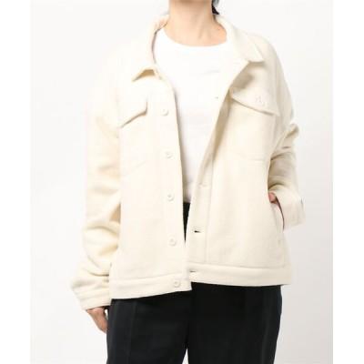 FRUIT OF THE LOOM / リサイクルフリースジャケット WOMEN ジャケット/アウター > テーラードジャケット