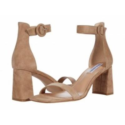 Steve Madden スティーブマデン レディース 女性用 シューズ 靴 ヒール Reverie Heeled Sandal Natural Suede【送料無料】
