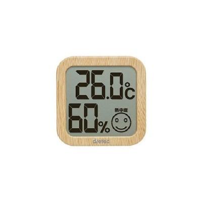 【送料別】dretec(ドリテック):O-271NW [ナチュラルウッド] デジタル温湿度計 4536117024326