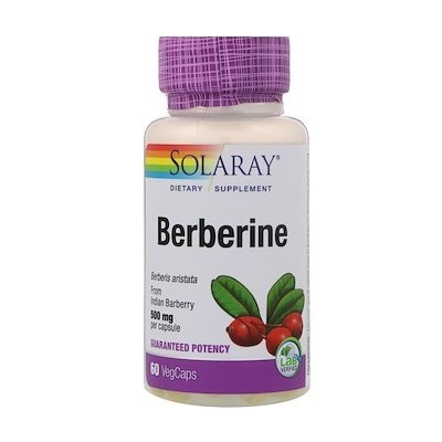 Berberine, 500mg, 60 VegCaps