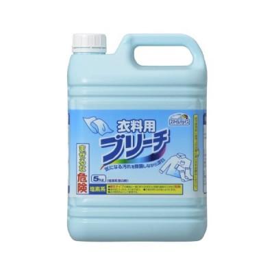 (まとめ)スマイルチョイス塩素系漂白剤衣類用ブリーチ 本体 5kg〔×5セット〕