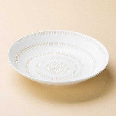 和食器 かんな丸多用皿 22.7×4.6cm プレート 皿 うつわ 陶器 おしゃれ おうち 軽井沢 春日井