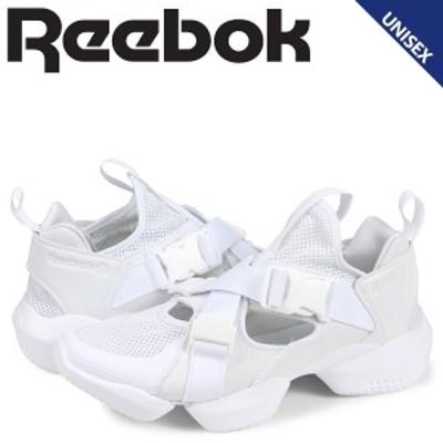 リーボック Reebok オーパス ストラップ スニーカー レディース メンズ 3D OP S-STRP ホワイト 白 CN7921