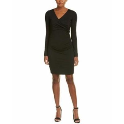 Susana Monaco スサナモナコ ファッション ドレス Susana Monaco Devon Sheath Dress M Black