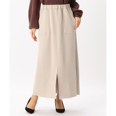 スカート 暖かムートンスカート