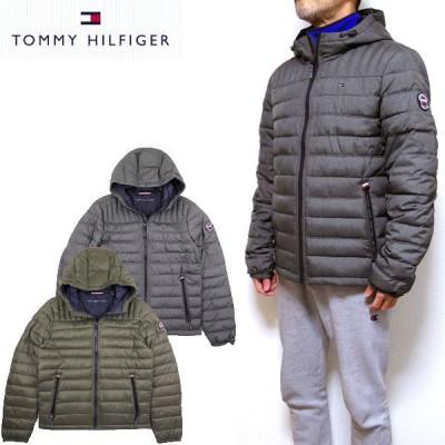 トミーヒルフィガー ダウンジャケット TOMMY HILFIGER  メンズ アウター 中綿 150AN555 HOODED