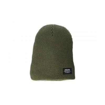 Nixon ニクソン メンズ 男性用 ファッション雑貨 小物 帽子 ビーニー ニット帽 Compass R Beanie - Olive