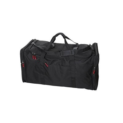 Camp Soft Trunk - Black, Size: 52 x 18 x 20, 18,720 Cu. Inch【並行輸入品】