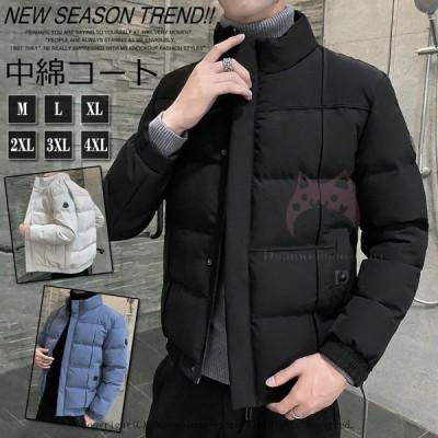 ダウンジャケット 中綿コート メンズ ハイネック 中綿ジャケット メンズ ミリタリージャケット メンズ コート アウター 綿入れ 冬 冬服  30代40代50代