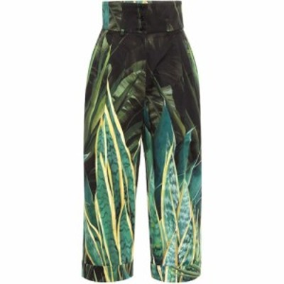 ドルチェandガッバーナ Dolce and Gabbana レディース ボトムス・パンツ Printed high-rise stretch-cotton pants