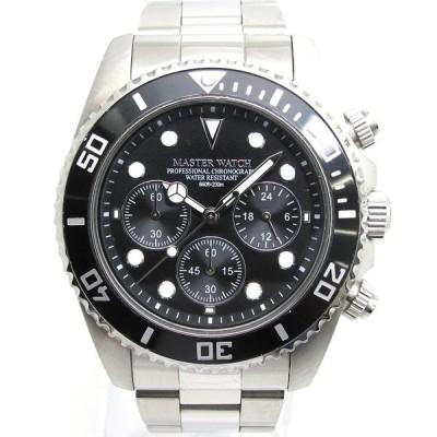 腕時計 MASTER WATCH マスターウォッチ MW002 ダイバー メンズ クォーツ【Ceやしろ店】