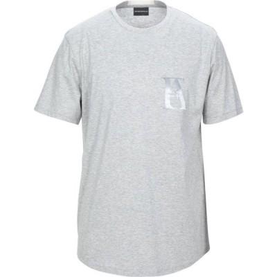 アルマーニ EMPORIO ARMANI メンズ Tシャツ トップス t-shirt Light grey