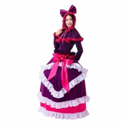 高品質 高級コスプレ衣装 ハロウィン オーバーロード 風 プリンセス ドレス Overlord Season 2 Shalltear Bloodfallen Cosplay Costume