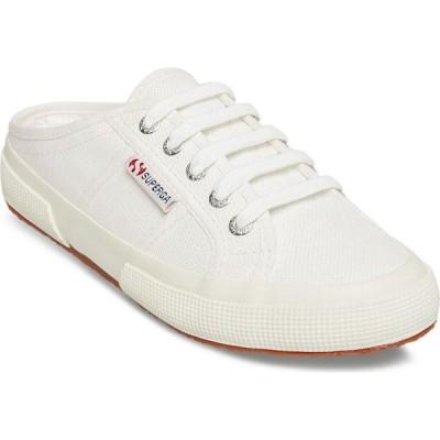 スペルガ Superga レディース スリッポン・フラット かかとなし シューズ・靴 2402 Cotw Slip-on Backless Sneakers White
