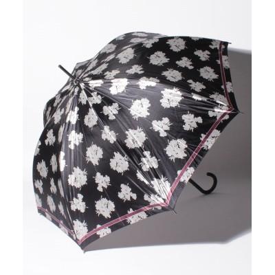 【ムーンバット】 LANVIN COLLECTION(ランバンコレクション)婦人雨傘 耐風 レディース チャコール グレー メーカー指定サイズ MOONBAT