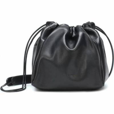 ジル サンダー Jil Sander レディース ショルダーバッグ バケットバッグ バッグ leather bucket bag Black