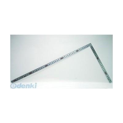 シンワ測定 10033 曲尺平ぴた シルバー 50cm/1尺 6寸 併用目盛 10033