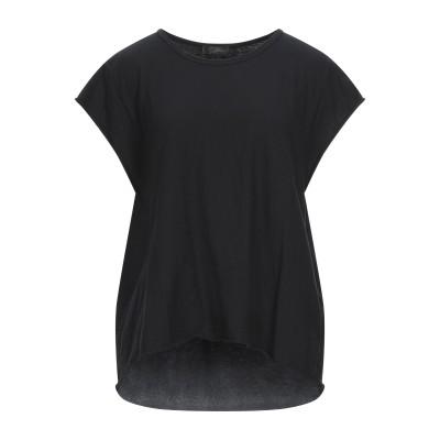 SOALLURE T シャツ ブラック M コットン 100% T シャツ