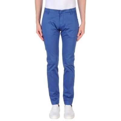 MICHAEL COAL パンツ ブルー 33 コットン 97% / ポリウレタン 3% パンツ