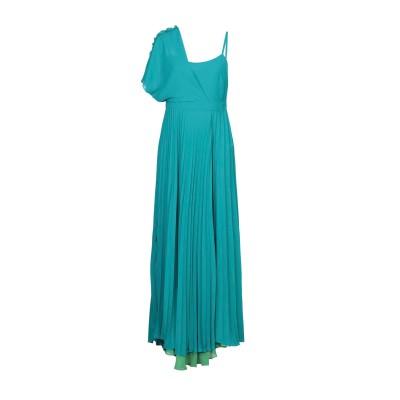 HANITA ロングワンピース&ドレス グリーン L ポリエステル 100% ロングワンピース&ドレス