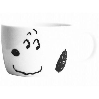 Snoopy スヌーピー シンプルフェイス マグ(おすまし) 食器