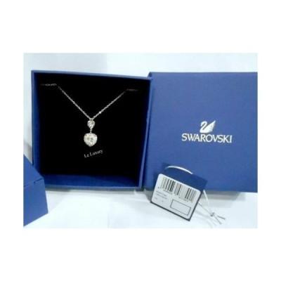 おしゃれ 高品質 ネックレス スワロフスキー Swarovski Starlet NecklaceHeart-ShapedLt.  5007740