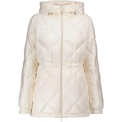 モンクレール Moncler レディース ダウン・中綿ジャケット アウター sargas quilted down jacket White