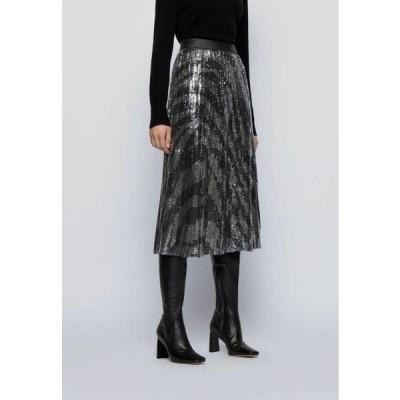 ボス レディース ファッション VASPARKY - Pleated skirt - black