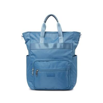 マッデンガール レディース バックパック・リュックサック バッグ Nylon Multi Function Backpack BLUE