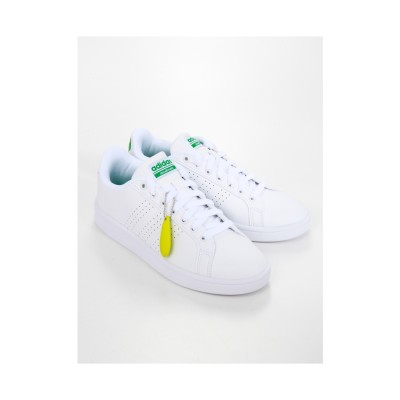 Sneakers Selection CLOUDFOAMVALCLEAN/スニーカー(ランニングホワイト/ランニングホワイト/グリーン) ランニングホワイト/ランニングホワイト/グリーン