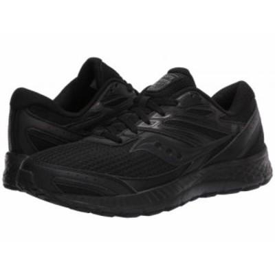 Saucony サッカニー メンズ 男性用 シューズ 靴 スニーカー 運動靴 Versafoam Cohesion 13 Black/Black【送料無料】