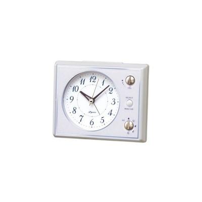 SEIKO(セイコー)/マルチサウンドアラーム 目覚まし時計 メロディ付き ピンク NR445H(取寄せ/代引不可)