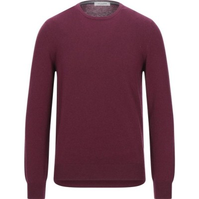 ラ フィレリア LA FILERIA メンズ ニット・セーター トップス sweater Deep purple