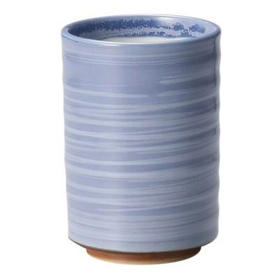 和食器 湯呑 / パープル 白刷毛 切立湯呑 寸法: φ6.9 x 10cm(250cc)