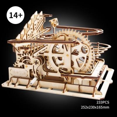 Robotime コースター 3D立体パズル ギア レーザー 木製 クラフト プレゼント おもちゃ オモチャ 知育玩具 男の子 女の子 大人