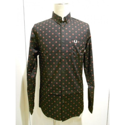 FRED PERRY(フレッドペリー) ALLOVER ROSE PRINTED SHIRT (M3327/102)