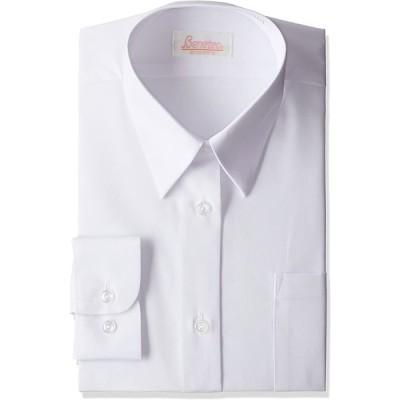 (キャッチ)Catch 多機能 女子用 長袖Yシャツ B544381 ホワイト 150