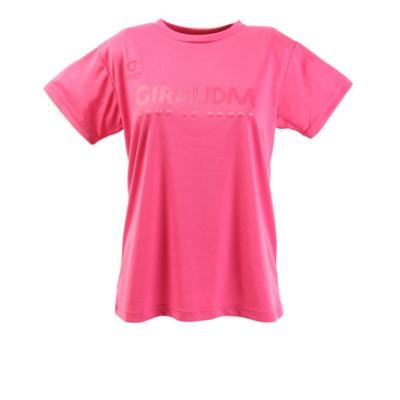 Tシャツ レディース 半袖 ドライプラス UVメッシュ 864GM0CD2430 PNK オンライン価格