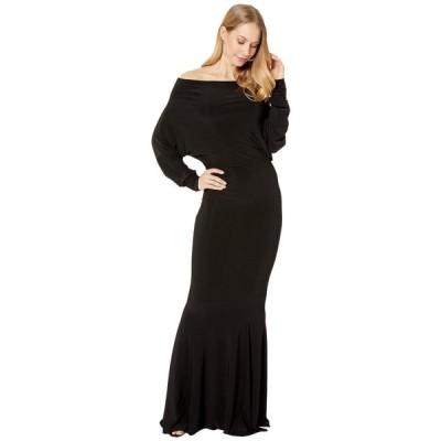 ノーマ カマリ KAMALIKULTURE by Norma Kamali レディース パーティードレス ワンピース・ドレス All-In-One Fishtail Gown Black