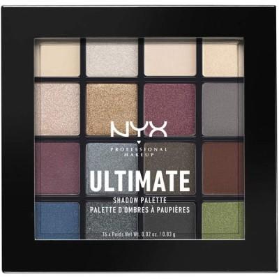 【並行輸入品】NYX Professional Makeup(ニックス プロフェッショナル メイクアップ) UT シャドウ パレット 01 01 カラースモーキー&ハイライト