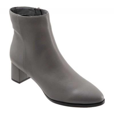 トロッターズ Trotters レディース ブーツ ショートブーツ シューズ・靴 Kim Ankle Bootie Grey Synthetic