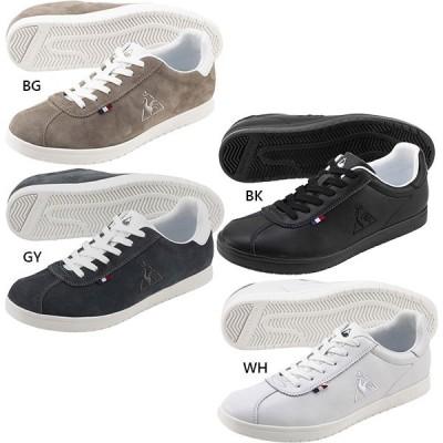 ルコックスポルティフ メンズ レディース ベルネー BERNAY スニーカー シューズ 紐靴 QL1PJC15BG QL1PJC15BK QL1PJC15GY QL1PJC15WH