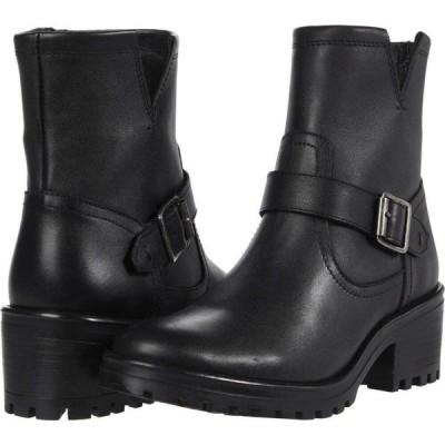 スティーブ マデン Steve Madden レディース ブーツ ショートブーツ シューズ・靴 Grotto Booties Black Leather