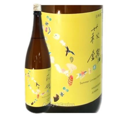 萩錦 土地の詩 純米酒 ~Summer Limited Edition~ 1800ml / 萩錦酒造