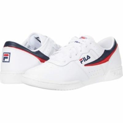 フィラ Fila レディース スニーカー シューズ・靴 Original Fitness White/Fila Navy/Fila Red