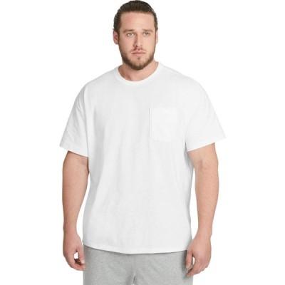 ナイキ Nike メンズ Tシャツ 大きいサイズ ポケット トップス Big & Tall NSW Tee Premium Essential Pocket White
