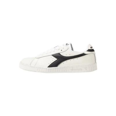 ディアドラ メンズ 靴 シューズ GAME WAXED - Trainers - white /black