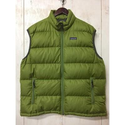 【USED】(ユーズド)'00s Patagonia Zipup down Vest 2000年代 パタゴニア ジップダウンベスト 200302P1