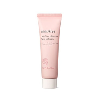 Innisfree Jeju Cherry Blossom Tone Up Cream (Tube)  イニスフリー 済州 チェリー ブラッサム トーンアップ クリーム (チューブ)