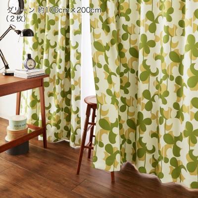 【58サイズ】北欧調遮光カーテン